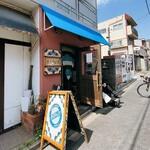 煮干そば 藍 - 煮干そば 藍@神宮丸太町 店舗外観