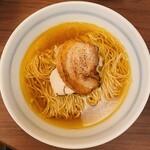 煮干そば 藍 - 煮干そば 藍@神宮丸太町 煮干しそば(770円)
