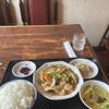 Toukaen - 料理写真:八宝菜定食、ご飯大盛り800円!