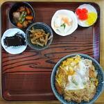 やなぎ食堂 - カツ丼