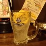 なんぶ酒場 - レモンサワー