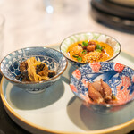 中国意境菜 白燕 - 彩  前菜三種