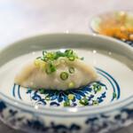 中国意境菜 白燕 - 包  手作り点心