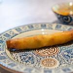 中国意境菜 白燕 - 桜海老と春キャベツの春巻き
