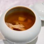 中国意境菜 白燕 - 滋  蓮根 緑豆 春筍