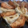 味の丸嘉 - 料理写真:辛子餃子とノーマル