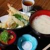 山辺の道 花もり - 料理写真:天ぷら付きそうめん