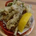 すし辰 - 料理写真:イワシ天¥280