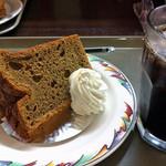 ラゴア カフェ - シフォンケーキ