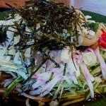 ひさご食堂 - 料理写真:冷やしたぬき蕎麦