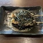 炭火焼 とり萬 - ささみ海苔わさび、143円×2