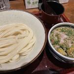 151097343 - オリーブ豚つけ麺(冷)850円