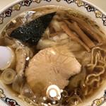 春木屋 - わんたん麺(アップ1)