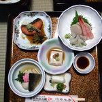 鯉川温泉旅館 - 夕食(一の膳)