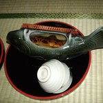 鯉川温泉旅館 - 岩魚の骨酒(別注)