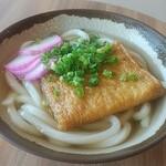 小豆島フェリー - 料理写真:きつねうどん