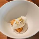 Bistro NOHGA  - サバのムースとアイス
