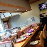 なか井 - 店内カウンター