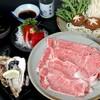 とん平 - 料理写真:特選和牛しゃぶしゃぶコース