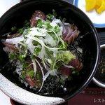 レストラン堀切 - 鰹はタタキではなく刺身です