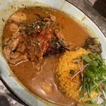 curry&cafe Warung - せせりとぼんじりのチキンカレー