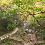 久國紅仙堂 - 細い山道を2時間歩きました、もみじの天ぷら予備が必要!