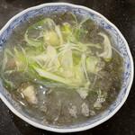 根室花まる - ふのり味噌汁