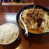 北海道らーめん 壱龍 - 料理写真:新味噌ラーメン+小ライス2021.05.09