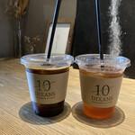 ディゾン - * アイスコーヒー 450円 * アイスティー 450円