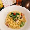 サンティノ - 料理写真:イイダコとグリーンアスパラのレモンバタースパゲティ