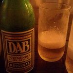 ドイツレストラン ハンブルク - 2012年7月ディナー:小瓶のDAB