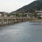 151132883 - 窓から見える渡月橋