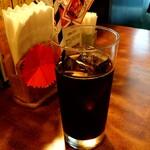 炭火焼肉 くろべこ - ランチに付く選べるドリンク(アイスコーヒー)