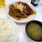 レストラン ベア - 2品組み合わせ定食¥830