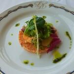 パノラミックレストラン ル・ノルマンディ - 魚介のタブーレ