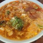 栄太呂ラーメン - 酸辣湯麺