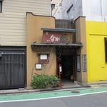薬院 なかむら - お店は渡辺通りにある佐田病院の前にありますよ。