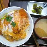 八ヶ岳パーキングエリア(下り線)赤岳 - かつ丼 ¥750