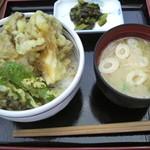 八ヶ岳パーキングエリア(下り線)赤岳 - 舞茸小天丼 ¥550