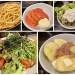 札幌ラム屋台 ジンギスカンとハイボール ラム吉 - 酒の肴 メニュー ♪  あれこれ