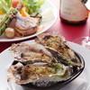 ペスカビアンカ - 料理写真:濃厚な旨味の焼きカキ