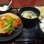 上海亭 - 鶏甘酢和え