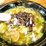 鶴岡食堂 - ちゃんぽん(並)※少なめ