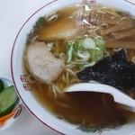 金次屋 - 2012.09中華そば(500円)