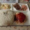 カフェテラス グリーン - 料理写真:ハンバーグプレートご飯大盛り