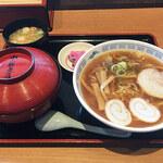 中藤 - カツ丼+ラーメン