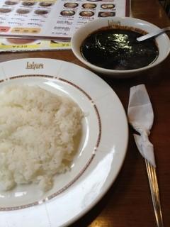 ラホール - ブラックカレー(ビーフ) 870円