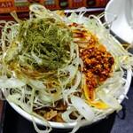 吉野家 - ねぎラー油牛丼並、ねぎ山椒単品