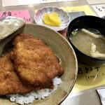 レストラン ふくしん - 料理写真:カツ丼(小)