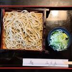 手打ちそば・うどん みち庭 - 料理写真:十割そば(930円)